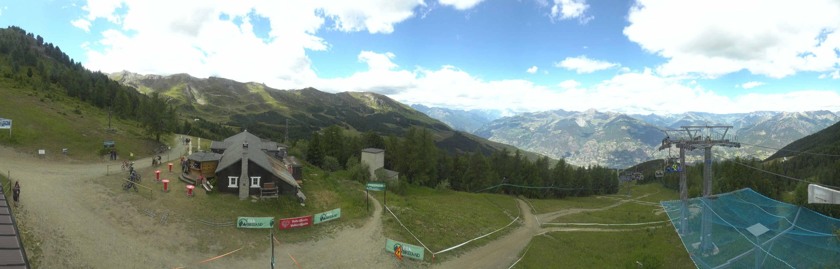 Webcam Panoramica Chamolè - Pila