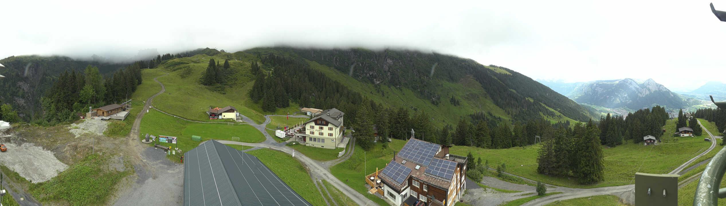 270°Blick feratel HD Webcam im Pizol Wangs - Furt