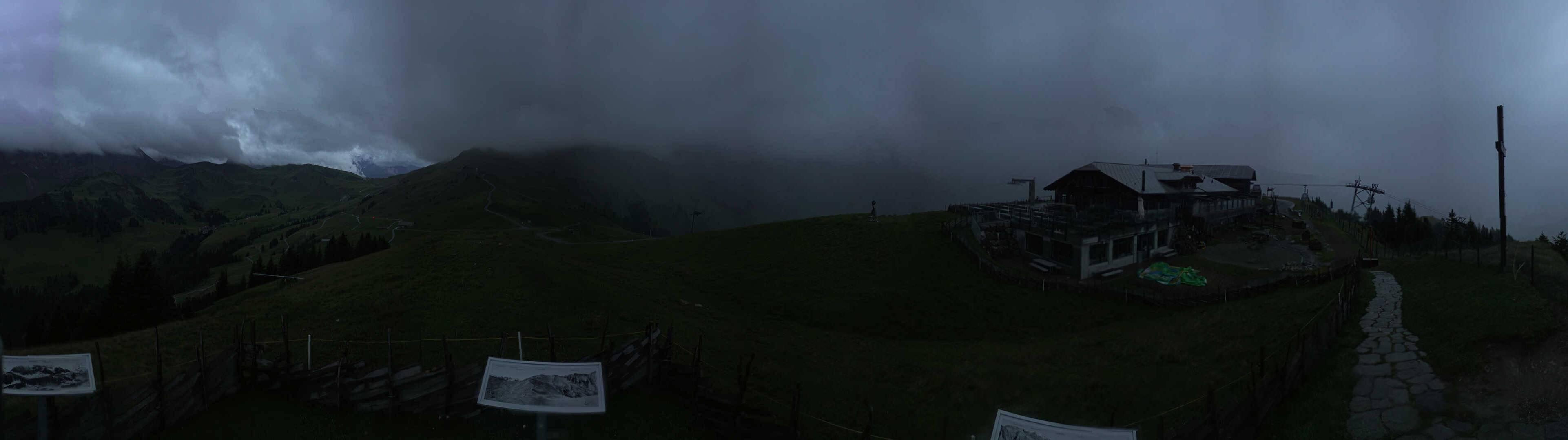 Adelboden Sillerenbühl panorama webcam