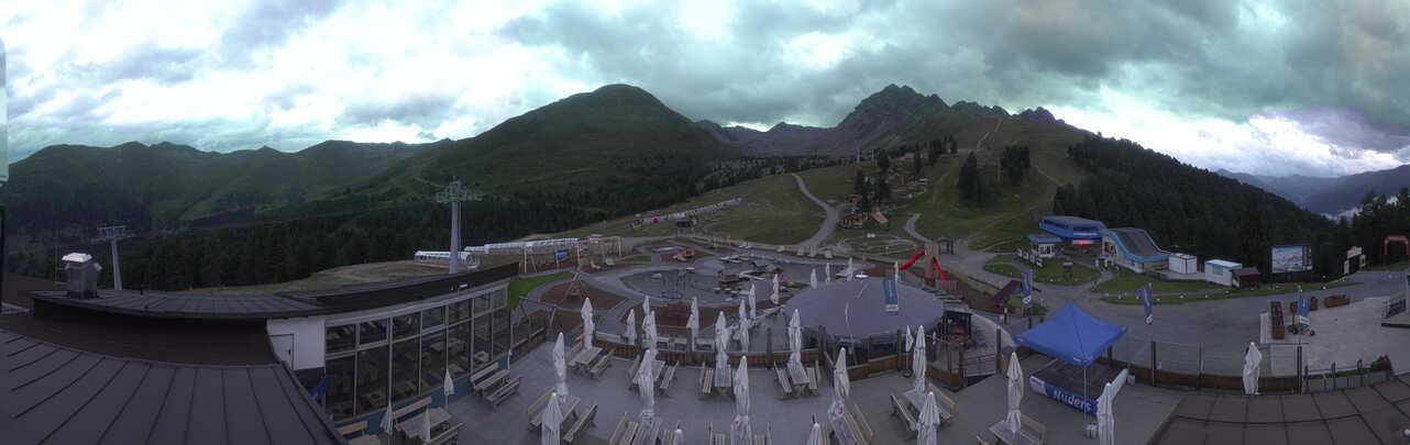 Nauders webcam - ski station Bergkastelseil